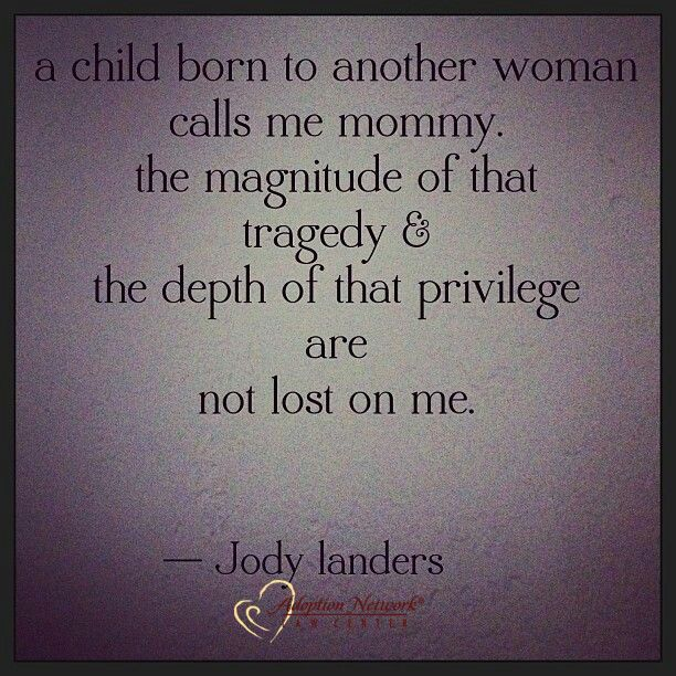 -Jody Landers #Adoption