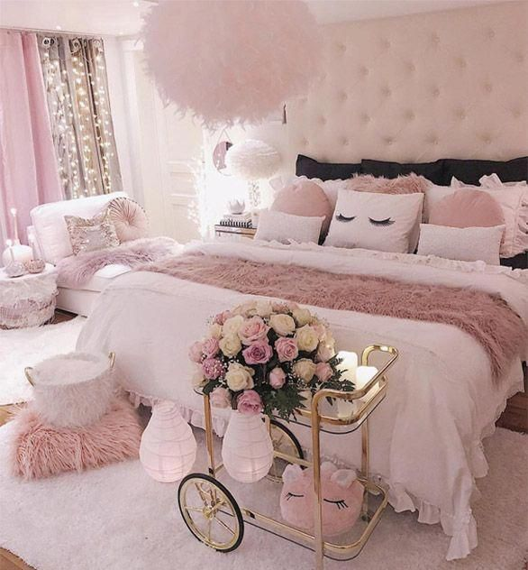 Beautiful Bedrooms Girly French Decorating Feminine Bedroom Room Inspiration Girl Designs
