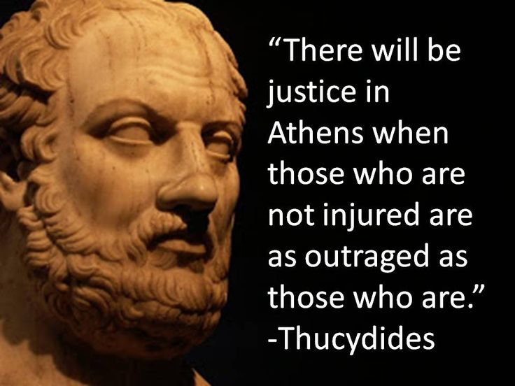 """Thucydides (c. 460 – c. 395 BC) was a Greek historian and Athenian general. His History of the Peloponnesian War recounts the 5th century BC war between Sparta and Athens to the year 411 BC. Thucydides has been dubbed the father of """"scientific history"""", because of his strict standards of evidence-gathering and analysis in terms of cause and effect without reference to intervention by the gods, as outlined in his introduction to his work (from wikipedia)."""
