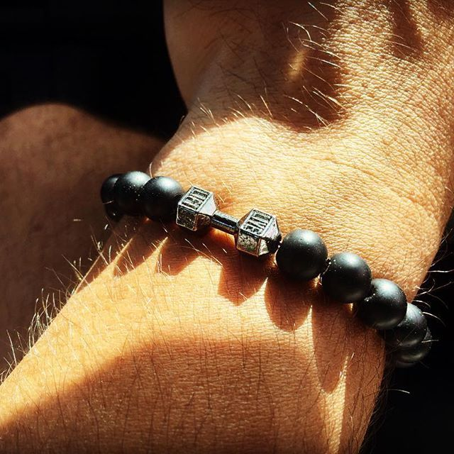 MATTO THE LABEL | | Simple | Elegant | Divine | | Follow us on Facebook & Instagram |  For those fitness freaks, heavy trainers & healthy living individuals! We are happy to announce the release of our LIVE/LIFT black agate Dumbell Beaded combo bracelets comes in 3 different colours (GOLD, BLACK, SILVER) - contact us for your order today $49.99 ___________