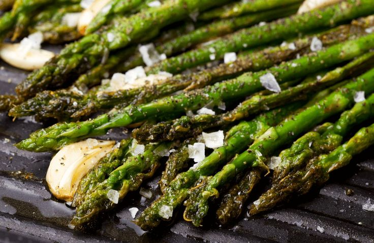 Asparagus Grilled with Garlic, Rosemary and Lemon Recipe