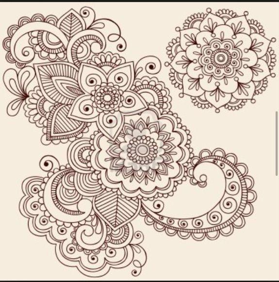 Mehndi Nape Tattoo : Best images about tattoos on pinterest henna back