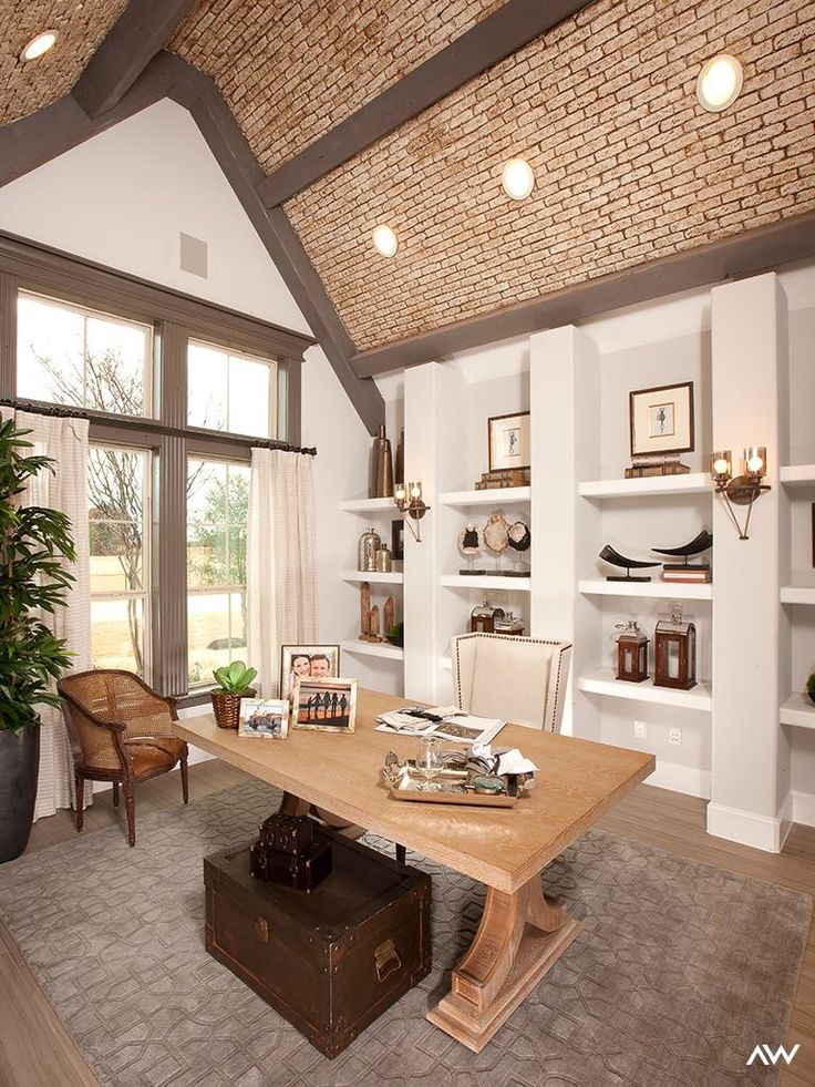 Study On Pinterest Home Office Design Offices And Model Homes