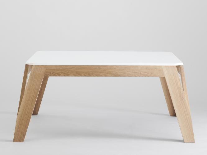 Table MéliMélo rectangulaire Bois et design made in France