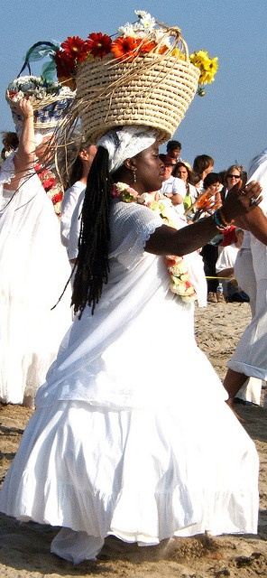 Offering for Yemanja (Yemaya) practiced in the African diaspoa communities throughout the Americas