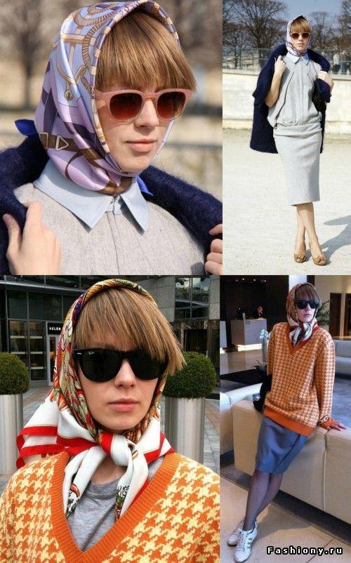 Эвелина Хромченко вдохновилась платками Вики Газинской