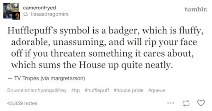 Pin By Sajina Nayaju On Harry Potter Tv Tropes Hufflepuff Ripped