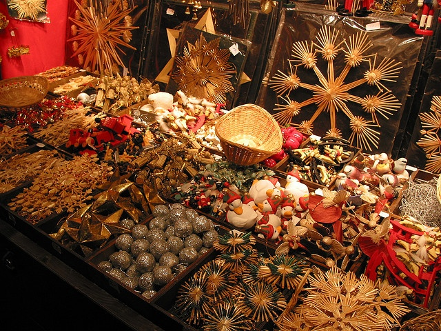 Christmas Market In Basel, Switzerland. Some Of My