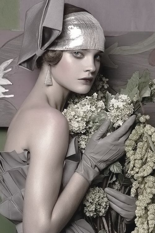 "Natalia Vodianova in ""Fashioning The Century"" by Steven Meisel 