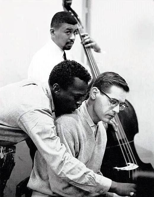 Miles Davis, Bill Evans and Paul Chambers