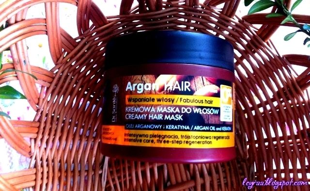 Leyraa Blog: Dr. Sante, Argan Hair, kremowa maska do włosów - o...