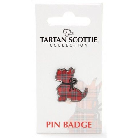 Scottie Dog Pin Badge Novelty gifts, Scottish gifts