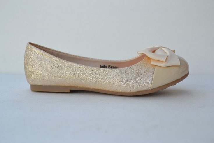 JB-xiro New Girl Ballet Flat Glitter Sequin Cap Toe Bow Decor Shoes Size 11~4 | eBay