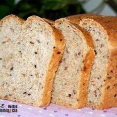 receta vegana de pan integral básico