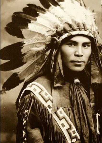 Happy Thanksgiving Hot Vintage Native Americans -7817