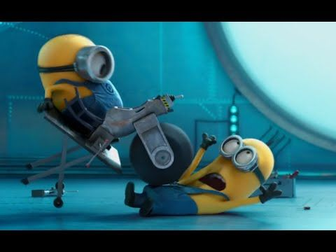 IRON GIRL - Funny Minions Video - YouTube