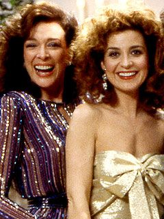 Dixie Carter and Annie Potts