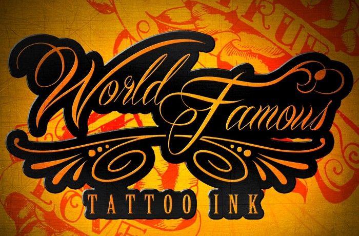 colori primari tattoo Word Famous Ink