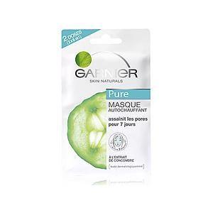 Het Zelf warmend masker van Garnier Pure bevrijdt de huid van onzuiverheden en overtollig talg die de poriën verstoppen. Met zink en klei wordt je huid grondig gereinigd, de poriën verfijnd en de huidstructuur geëgaliseerd. Op www.shopwiki.nl #schoonheid #make-up #gezichtsmasker