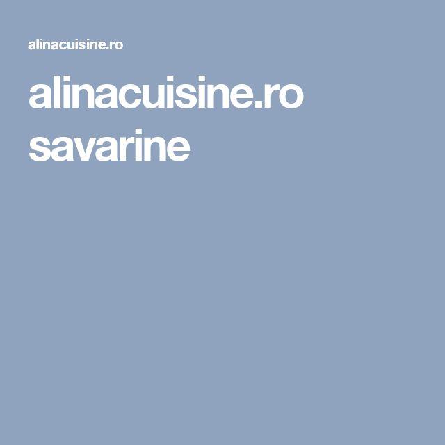 alinacuisine.ro savarine