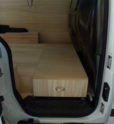 Aménagement d'utilitaire,aménagement fourgon,aménagement véhicule utilitaire,PEUGEOT PARTNER. Plus de 70 kits à partir de 279€ sur la boutique en ligne Kit Utilitaire.