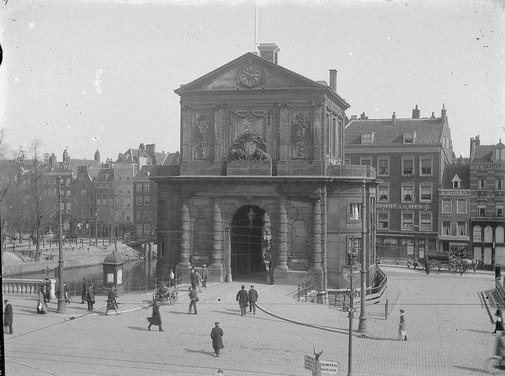 Rotterdam, Delftse Poort, omstreeks 1910.