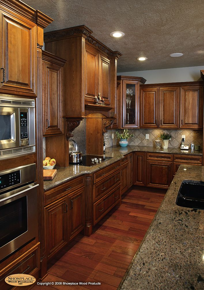 White Quartersawn Oak Kitchens With Shabby White Islands And Granite Gallery Ideas For The