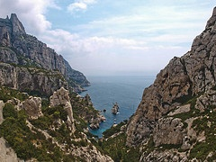 calanque in southern france