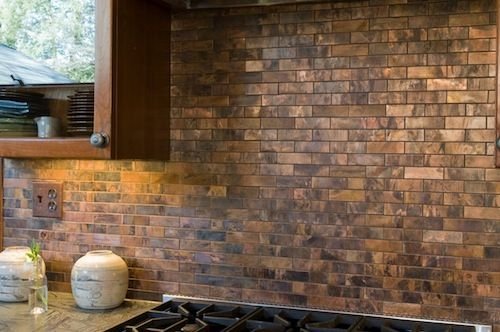 Warming your Autumn Home with Copper Tile | Glass Tile Store Blog