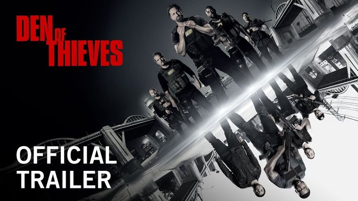 DEN OF THIEVES starring Gerard Butler, 50 Cent, Sonya Balmores & Pablo Schreiber | Official Trailer | In theaters January 19, 2018