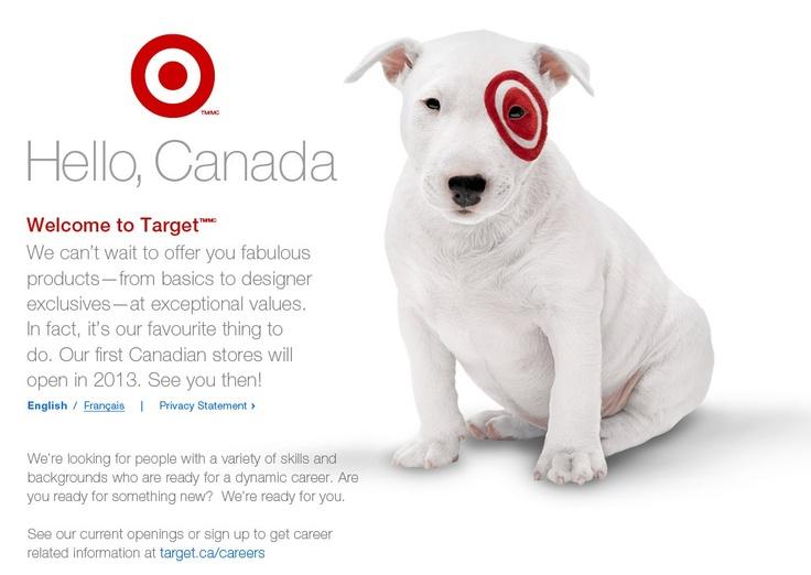 Target. Canada.