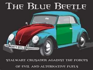 """Harry """"the other wizard"""" Dresden's Blue Beetle (Dresden Files)"""
