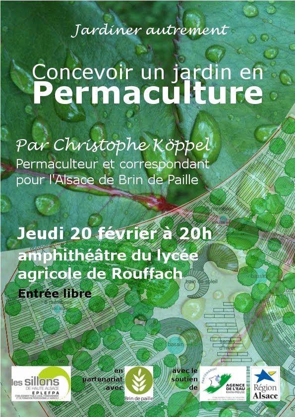 Concevoir un jardin en permaculture - partie 1