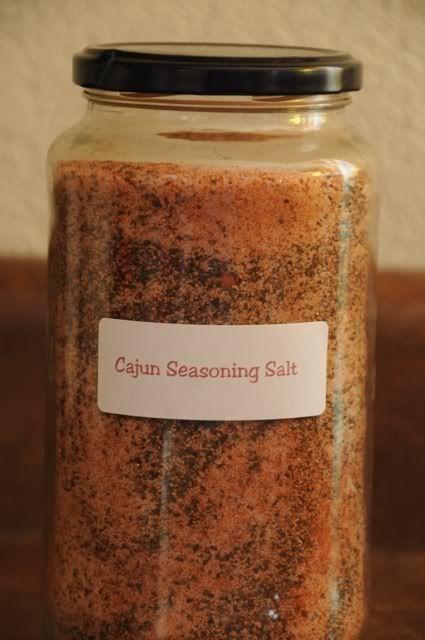 4 Homemade Seasoning Mixes: Cajun Seasoning, Mexican Fiesta Dip Mix, Seasoning Salt, Taco Season Mix