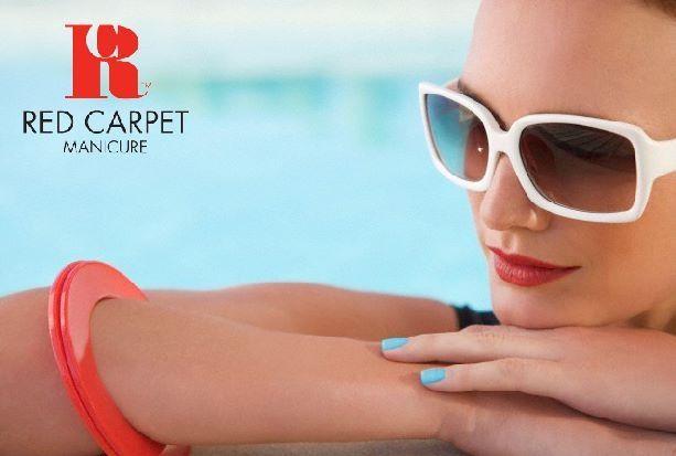 Red Carpet manicure color y brillo por semanas.