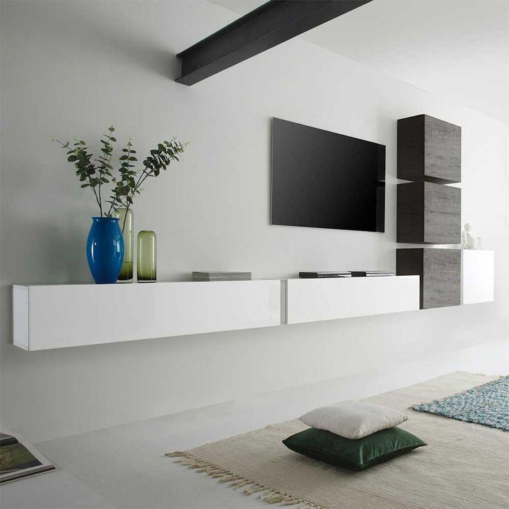 best 25 tv board h ngend ideas on pinterest tv board. Black Bedroom Furniture Sets. Home Design Ideas