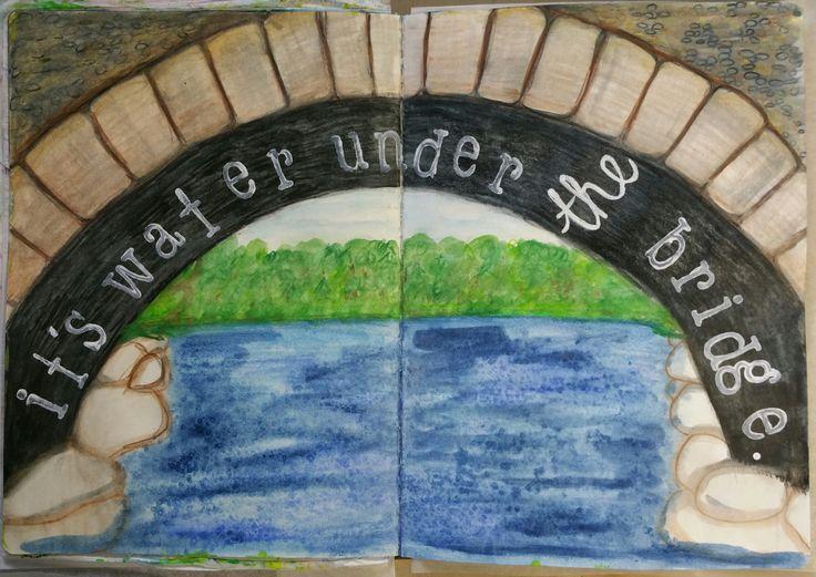 Week 14 Its water under the bridge.