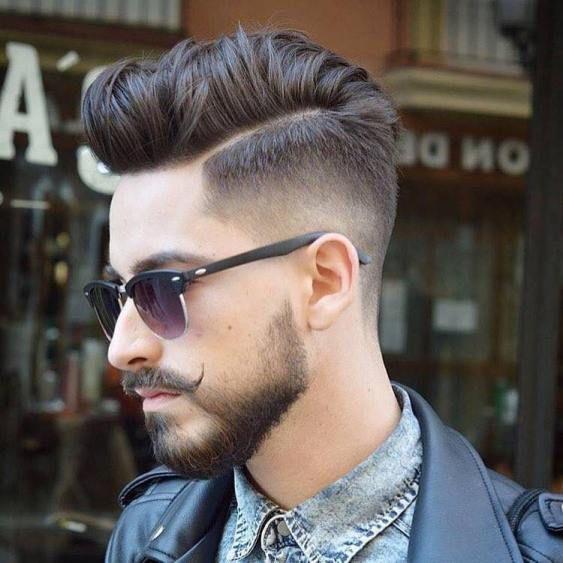 Hinterschneidung für Männer mit Bart – Dom La