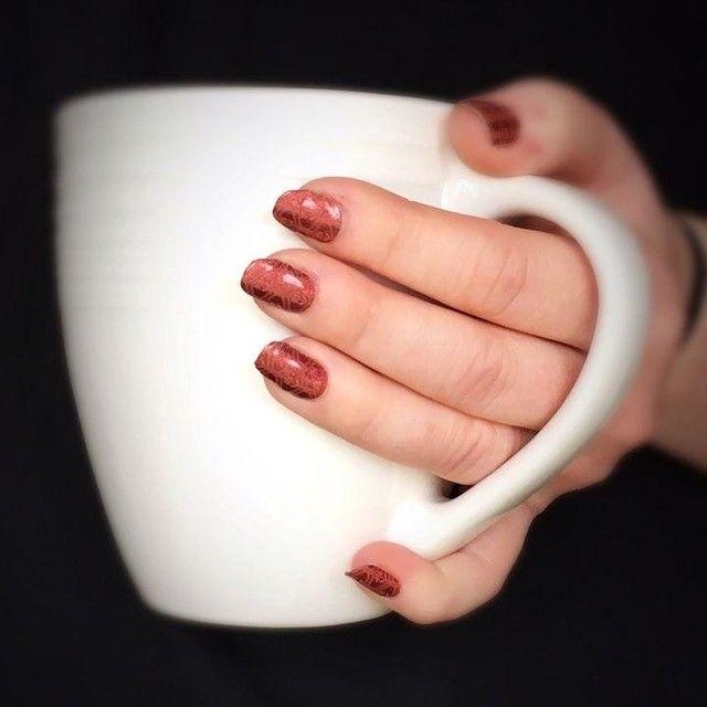 Jamberry nail wrap Hot Toddy