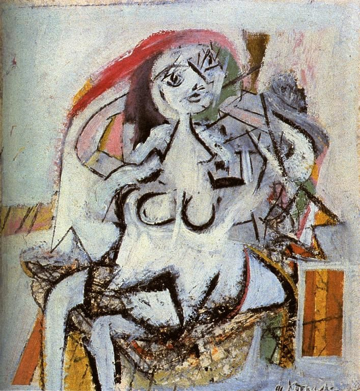 Cave to Canvas, Woman - Willem de Kooning, 1947