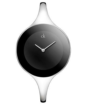 ck Calvin Klein Watch, Women's Swiss Mirror Stainless Steel Bangle Bracelet 34mm K2823130 - Women's Watches - Jewelry & Watches - Macy's