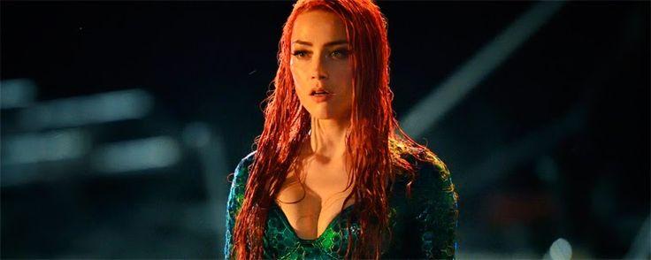 'Aquaman': Primer vistazo a Amber Heard como Mera en la película de James Wan