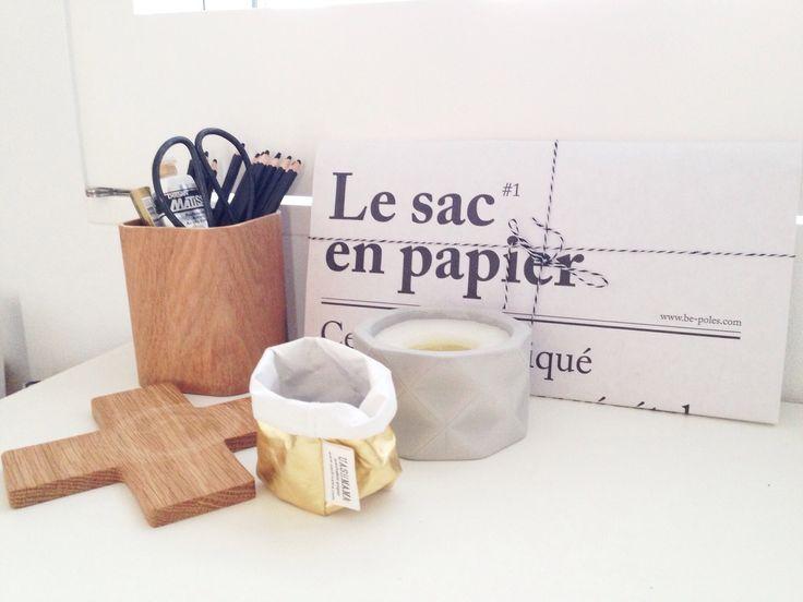 The Little Design Corner | Monochrome study | home office | Le Sac En Papier | IKEA