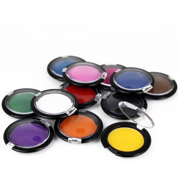 Haarfarbe Temporäre Haarfärbemittel Chalk Compact Candy Farbe Puder Für Haarfärbemittel