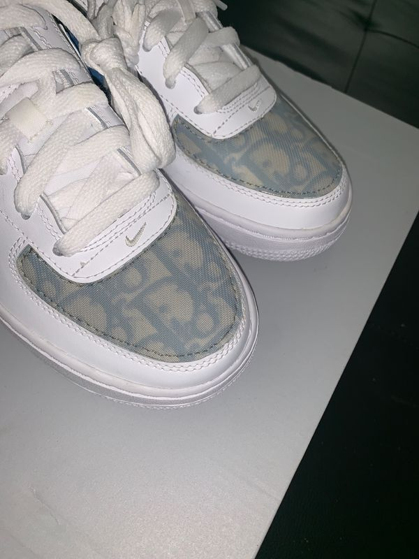 Custom Baby Blue Dior Air Force 1 Size 5 5 Gs 7 Womens 1of1