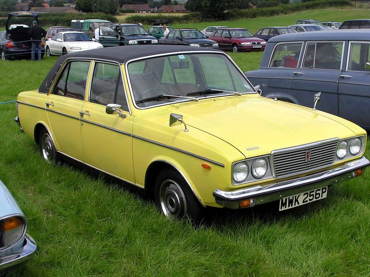 1975 Humber Sceptre at Coalpit Heath car show, near Bristol, England.  Taken by Adrian Pingstone in July 2004 and released to the public domain.