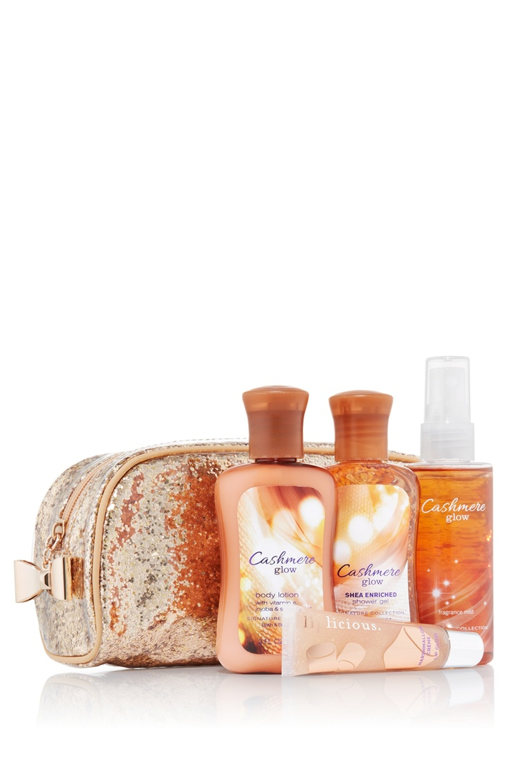Cashmere Glow Minis To Go Gift Set - Signature Collection - Bath & Body Works