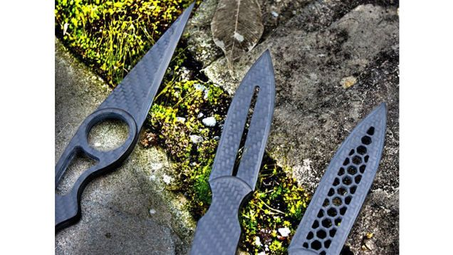 Carbon Fiber Knives are Shiv-able Works of Art