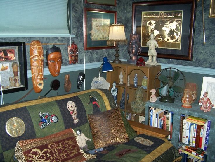 Man Cave Ideas South Africa : Indiana jones quilt and items from africa asia my