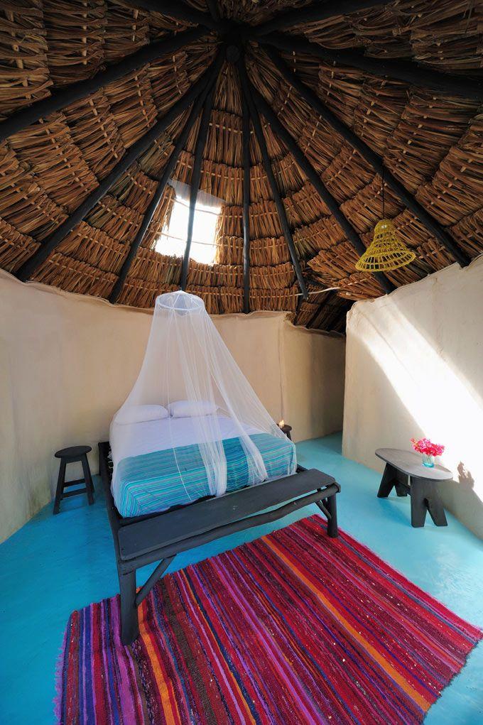 Glamp Cottages in Mexico | Tulum beachfront cottages | Beach Cabanas Tulum